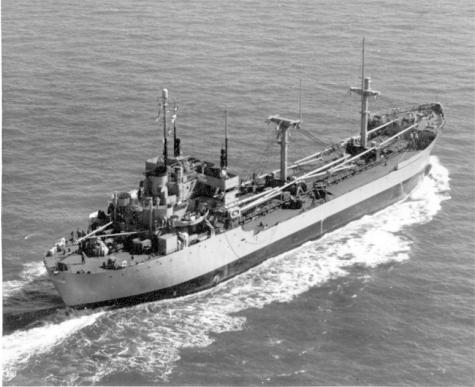 Photo of Beltrami ship in 1940s